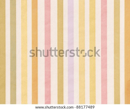 soft-color background with colored vertical stripes (shades of orange pink and blue) - stock photo