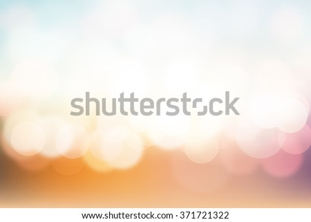 Soft colorful style abstract background - stock photo