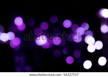 Soft de-focused lights background - stock photo