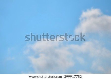 soft focus daytime sky abstract clouds