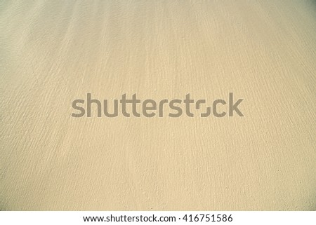 Soft focus with Smooth sand in Maldives Beach, copy space , message