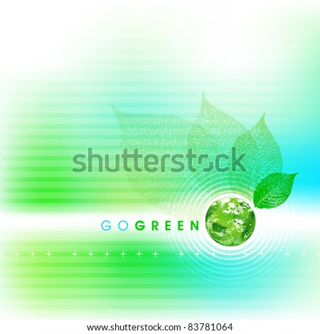 Soft Go Green Background raster format