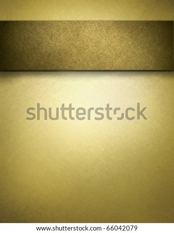 soft gold brown texture parchment with beige highlight background for displaying graphic art layout with copy space - stock photo