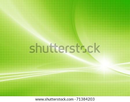 Soft Green - stock photo