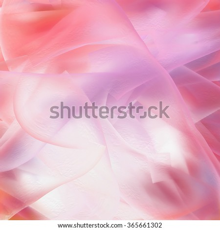 Soft pink digital painting as background texture. - stock photo
