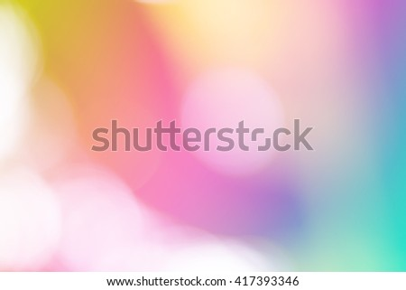 Soft sweet blurred pastel color background with natural bokeh. Abstract gradient desktop wallpaper.  - stock photo