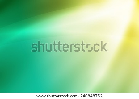 soft yellow to green gradient abstract background - stock photo