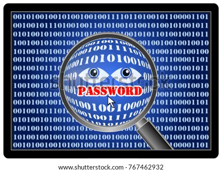 Software program to gain fraudulent access to confidential information like passwords
