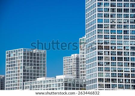 SOHO buildings in Beijing - stock photo
