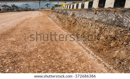 Soil aggregate sub base shall consist of soil from the sub grade combined with mineral aggregate present on the road surface