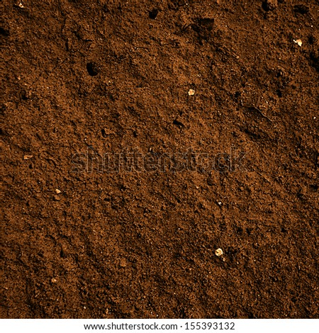 soil dirt texture with some fine grain in it - stock photo