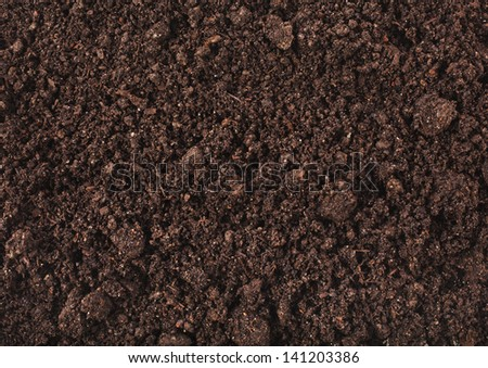 Soil surface background - stock photo