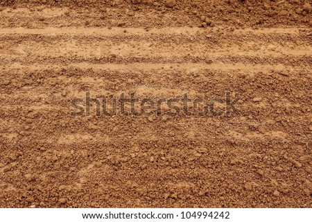Soil texture layers for natural background - stock photo