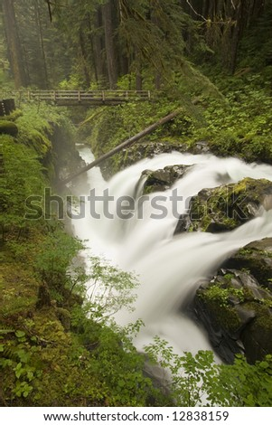 Sol Duc Falls is one of the largest and most beautiful waterfalls in Olympic National Park