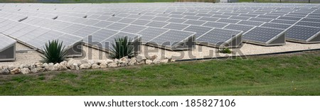 Solar Array - stock photo