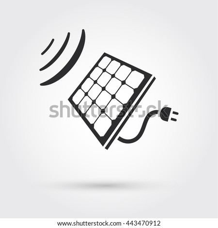 Solar Cell Panel. Energy - stock photo