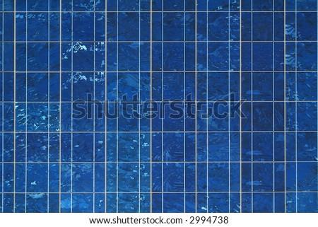 solar cells, texture - stock photo