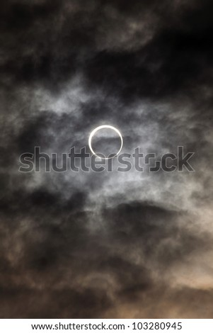 solar eclipse may 21st  2012, first of this kind to be seen in japan for 280 odd years. photos taken at seven twenty am