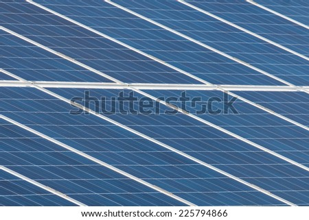 Solar farm  - stock photo