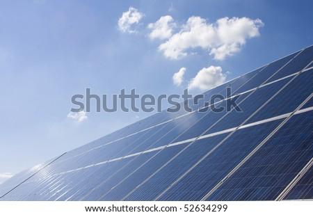 Solar panel - stock photo