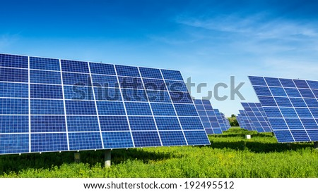 Solar Panels, beautiful, fabulous landscapes