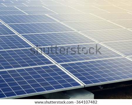 Solar Panels Energy saving Ecology Renewable Industry