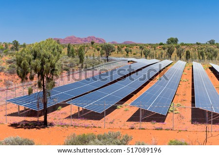 solar photovoltaic renewable energy facility in northern territory of australia