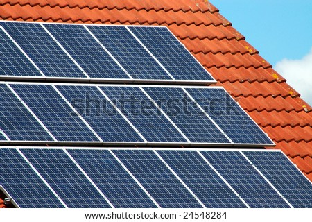 Solar powered - stock photo
