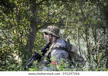 Soldier - stock photo