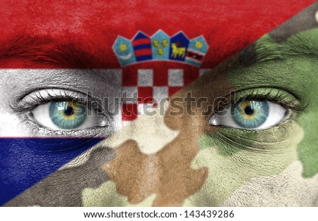Soldier from Croatia