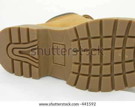 Sole of boot - stock photo