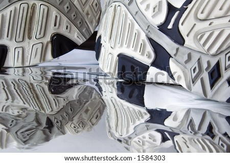 Running Shoes Soles Soles of Running Shoes And