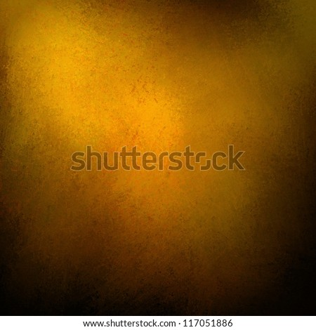 solid gold background abstract distressed antique dark background texture and grunge black edges on elegant wallpaper design, fancy painted background ad material of luxury gold Christmas wrap paper - stock photo