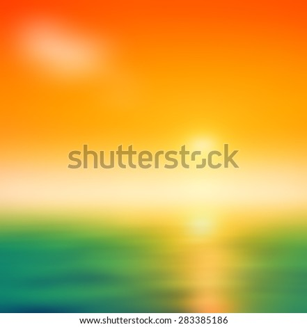 solid peach background orange green yellow gold background - stock photo