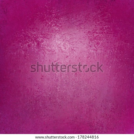 solid pink background wall paint with detailed vintage grunge background texture stain for luxury web background layout design, hot pink brochure paper, - stock photo