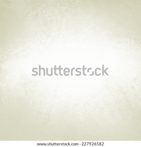 solid white background with bright center spot and beige or cream color border - stock photo
