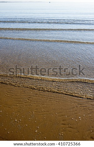 solitary beach in Sicily, Pozzallo, Italy, Europe
