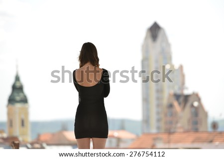 solitude - stock photo