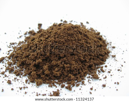 Some coffee powder.