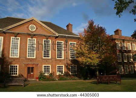 Somerville College of Oxford University - stock photo