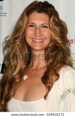 Sonia Kazarova at the Birthday Celebration for Fred Segal and Charity Auction. Private Location, Malibu, CA. 08-29-09