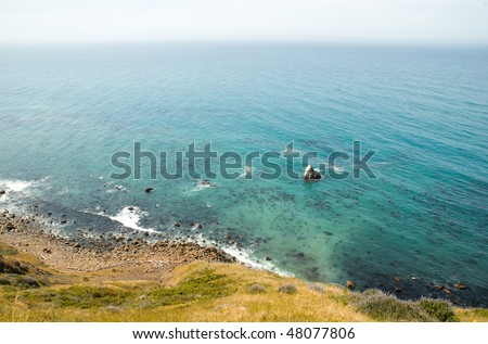 Sonoma Coast cliffs and coastal rock formations