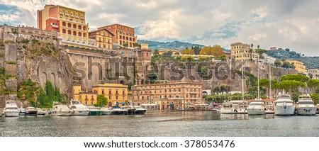 Sorrento, Italy.  - stock photo