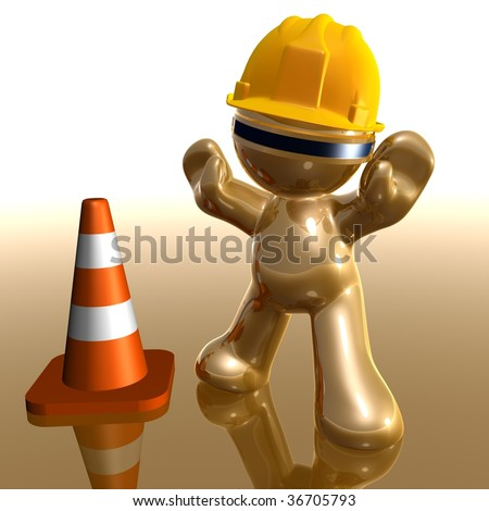 Sorry we are under construction and maintenance - stock photo