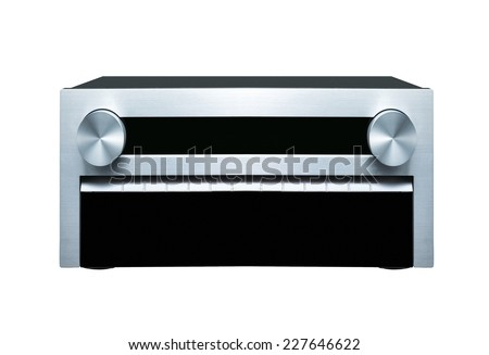 Sound system - stock photo