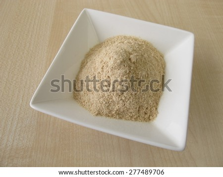 Sourdough extract - stock photo