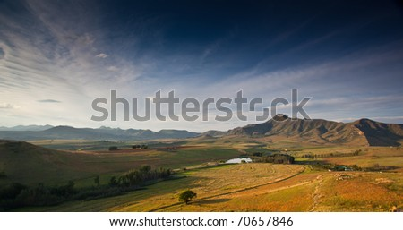 south africa freestate landscape