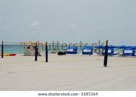 South beach - Miami - stock photo