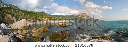 south coast off Crimea