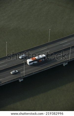 South corridor highway, Panama city, Panama, Central America - stock photo